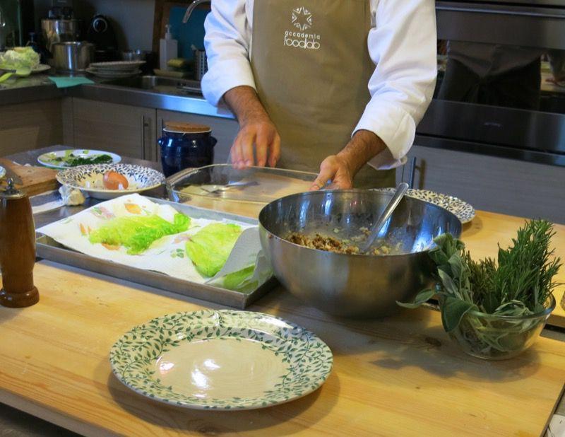 18 Caponet Piemontese Cabbage Rolls