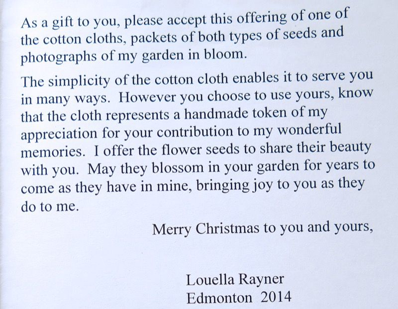 22 The Louella Rayner Gift CIN 2014