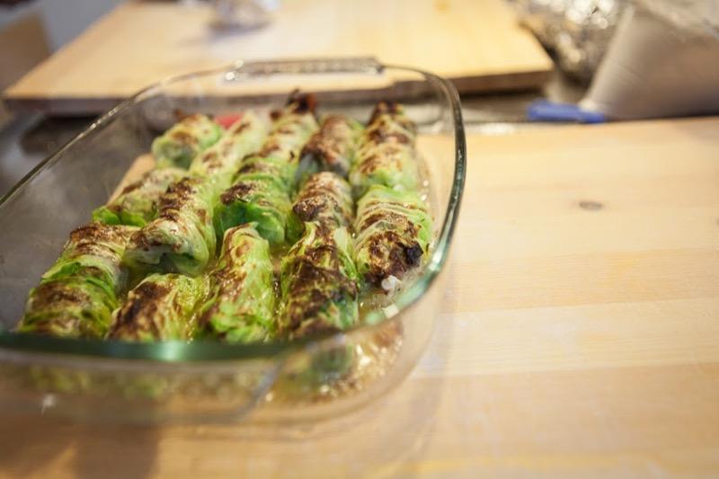 25 Caponet Piemontese Cabbage Rolls