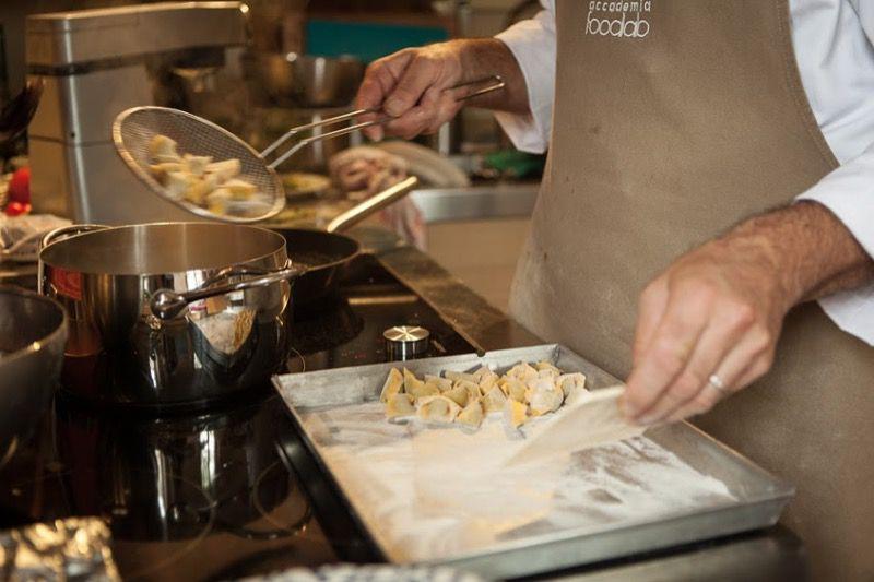 50a Agnolotti del Plin cooking