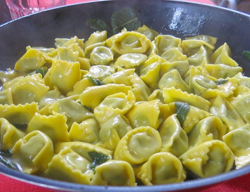 50c Agnolotti del Plin in Sage Butter Sauce