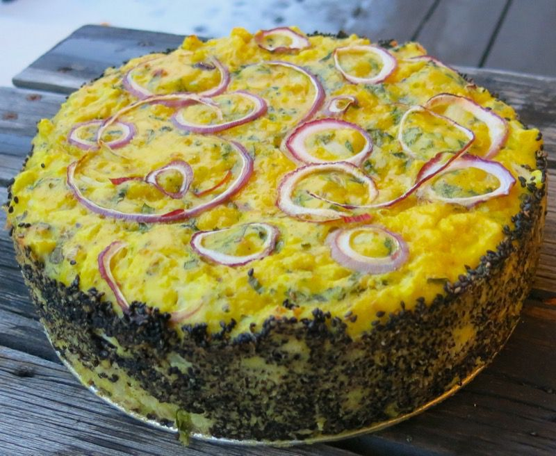 26 Ottolenghi Cauliflower Cake