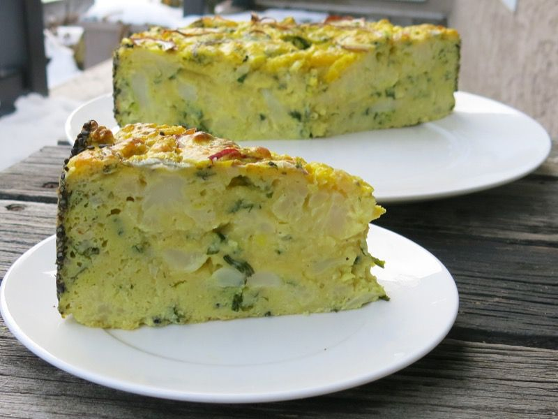 3 Ottolenghi Cauliflower Cake