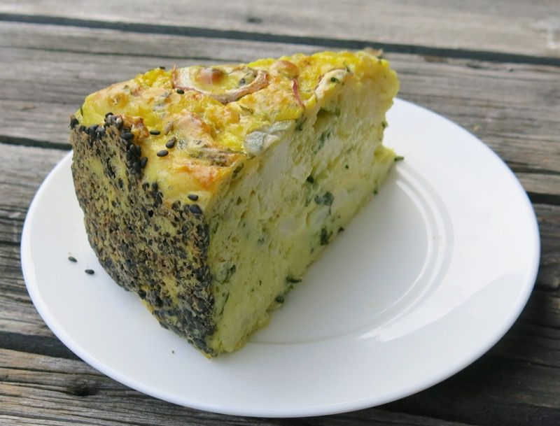 4 Ottolenghi Cauliflower Cake