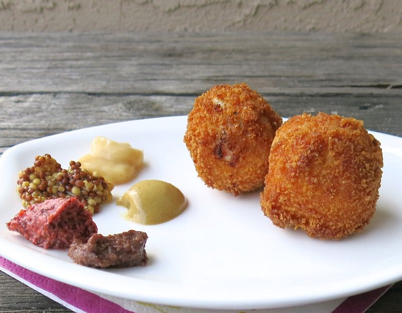 2 Ham and Sauerkraut Balls