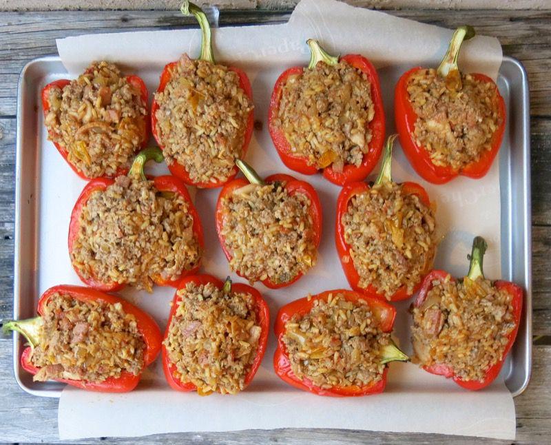21 Stuffed Peppers