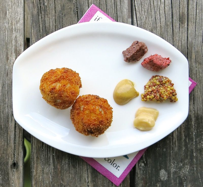 3 Ham and Sauerkraut Balls