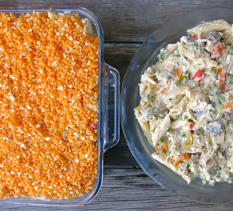 4 Turkey Tetrazzini