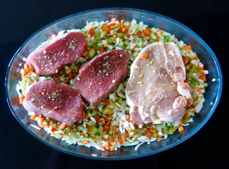 5 Agnolotti del Plin Meat Filling