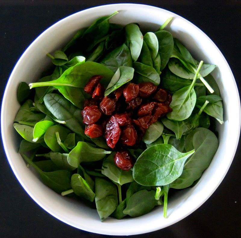 6 Spinach Salad