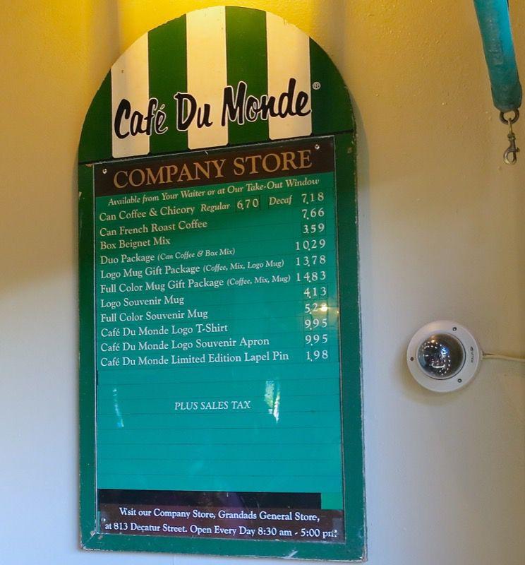 14 Cafe du Monde New Orleans