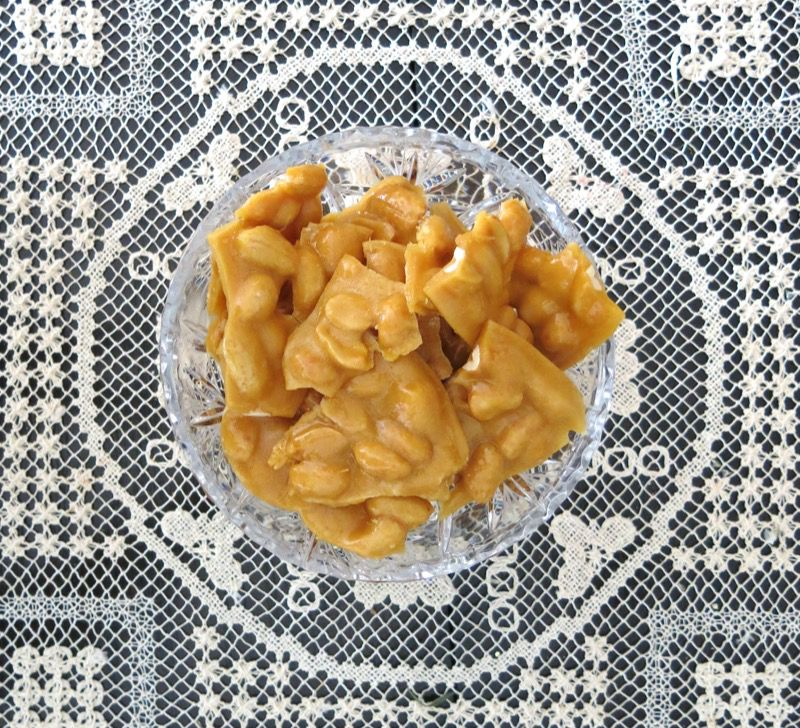 2 Homemade Peanut Brittle