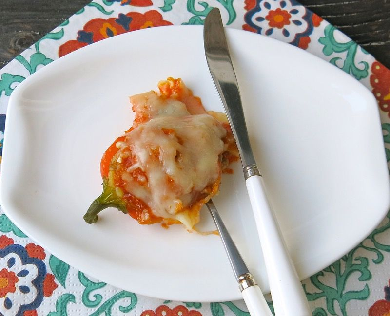 23 Miniature Stuffed Peppers