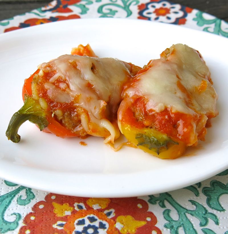25a Miniature Stuffed Peppers