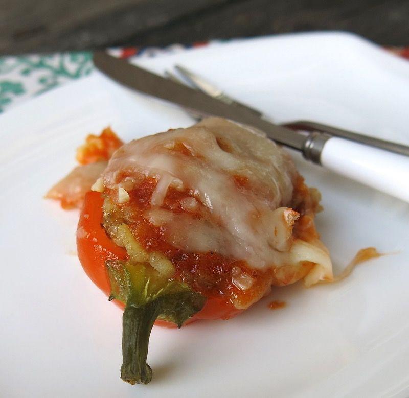 5 Miniature Stuffed Peppers