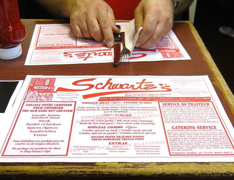 6 Schwartz Montreal Smoked Meat