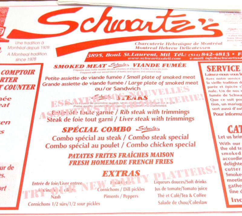7 Schwartz Montreal Smoked Meat