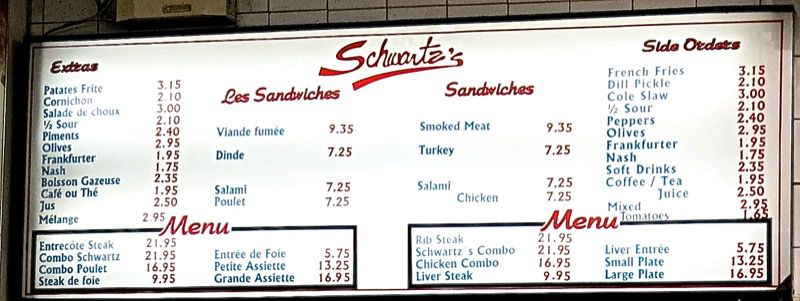 9a Schwartz Montreal Smoked Meat