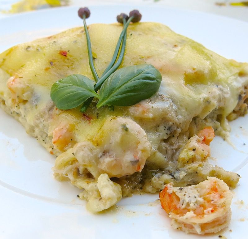 1 Seafood Lasagna