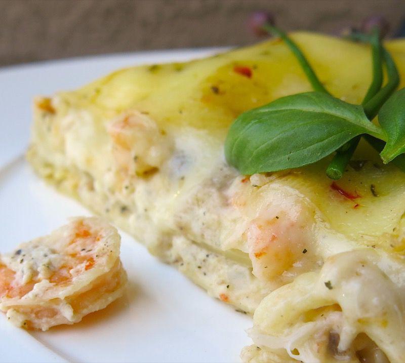 3 Seafood Lasagna