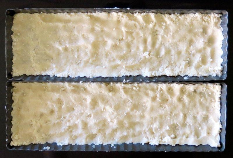 9 Rhubarb Custard Square Pastry