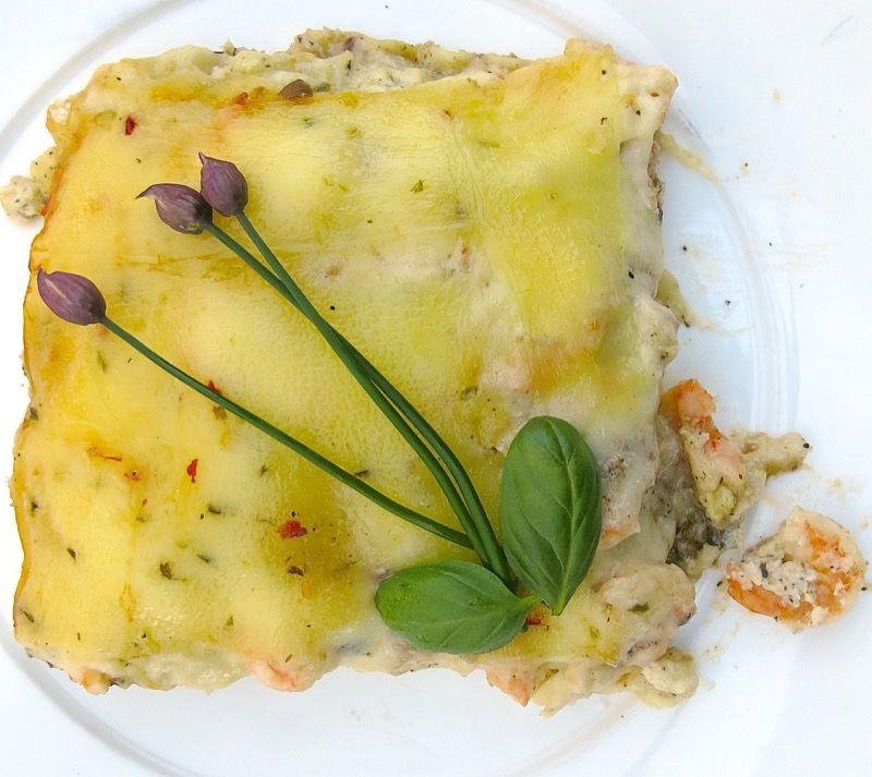 20 Seafood Lasagna Slice
