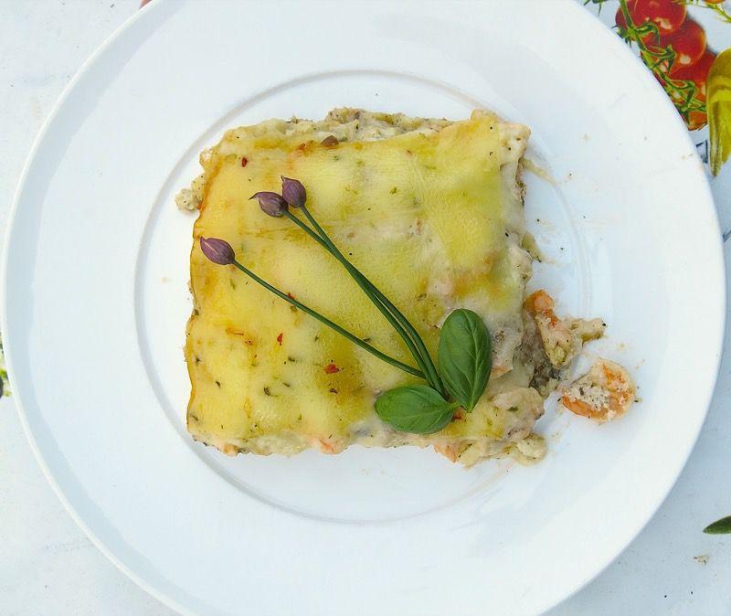 22 Seafood Lasagna
