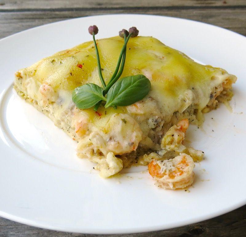 23 Seafood Lasagna