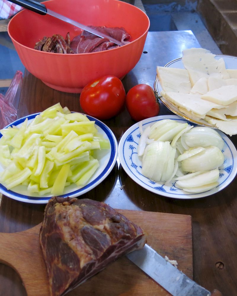 3 Vanja Lugonja's Special Dinner Mis en place