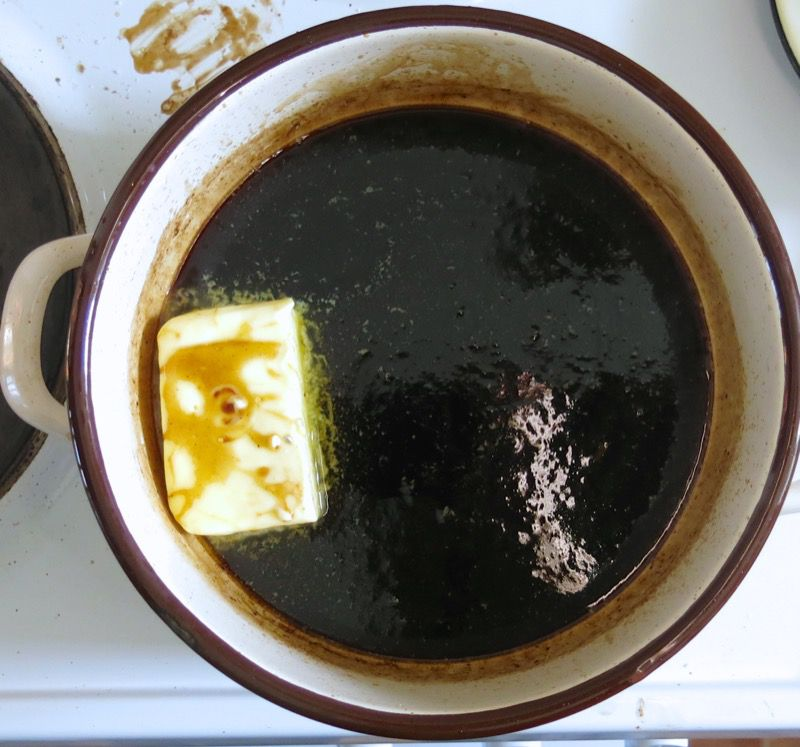 6 Bete Noir Espresso Syrup with Butter
