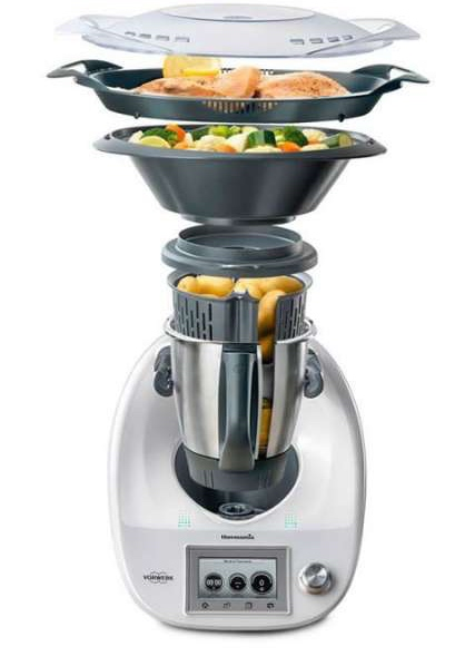 Thermomix-TM5 multi layer cooking