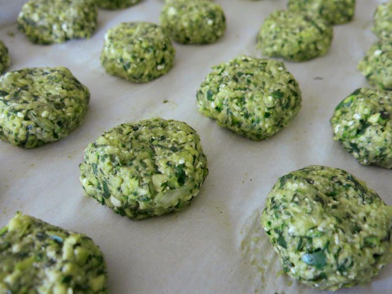 32b Greek Zucchini Croquette