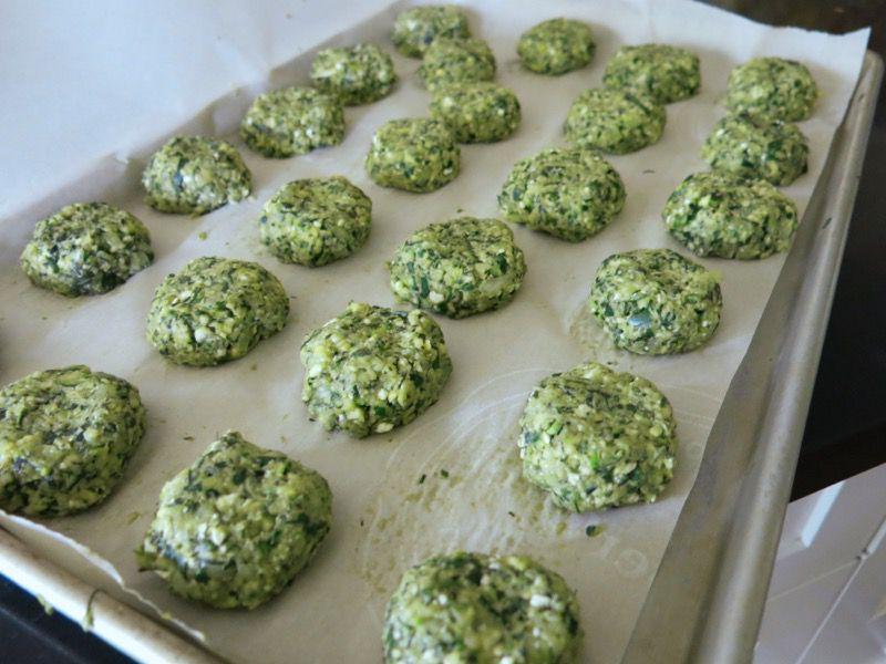 32c Greek Zucchini Croquette