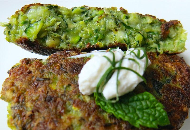 Zucchini-Tofu Croquettes Recipe — Dishmaps