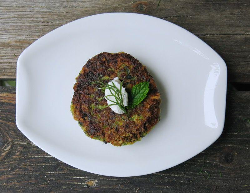 Greek Zucchini Croquette