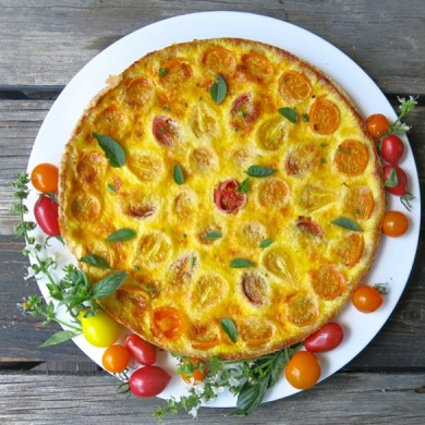 1 Tomato Tart or Quiche