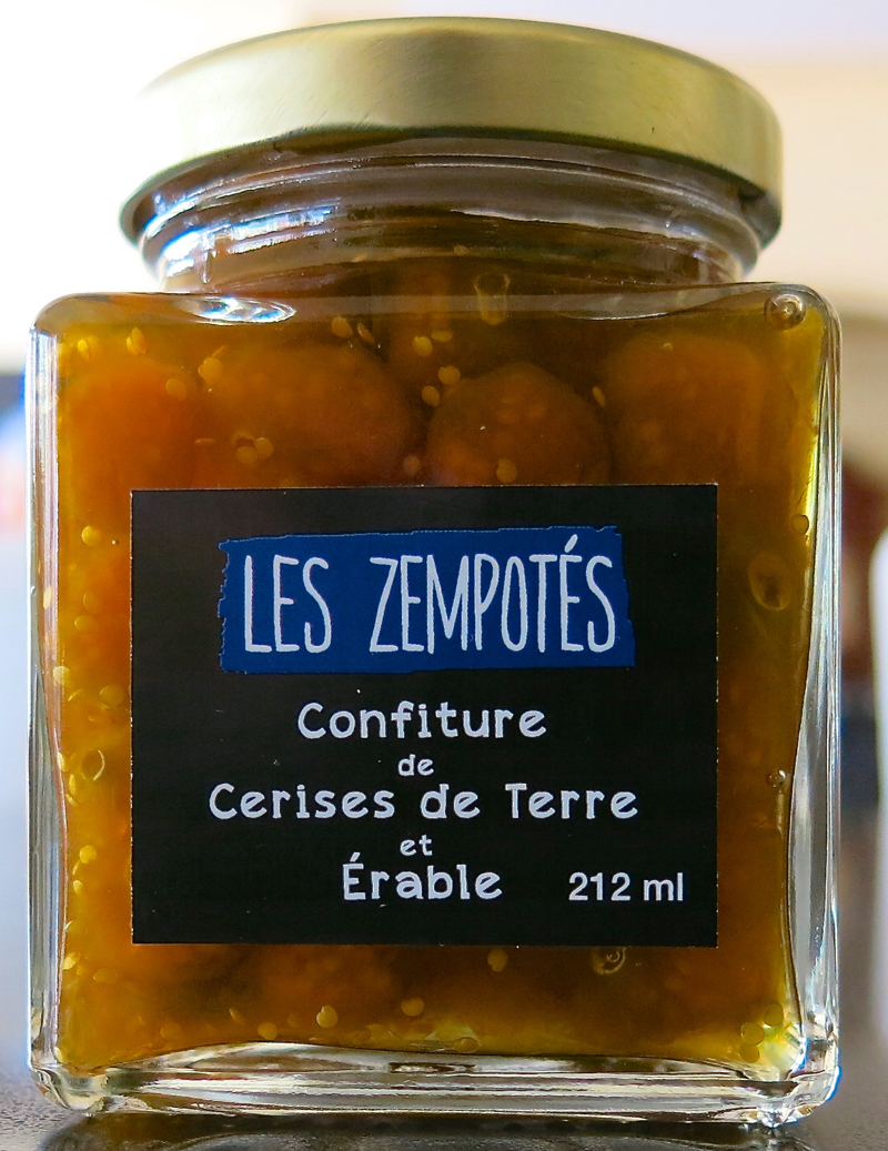 18a Ground Cherries and Maple Jam Terroirs Quebec