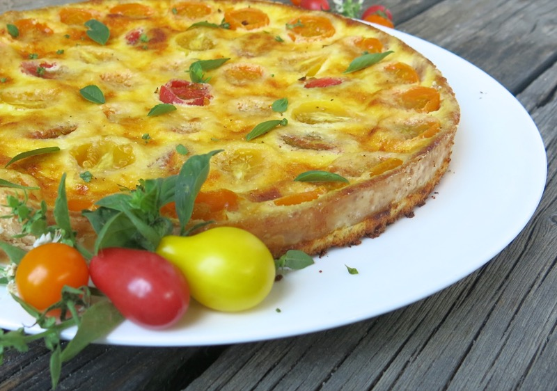 2 Tomato Tart or Quiche
