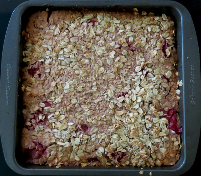 21 Sour Cherry Breakfast Cake Baked