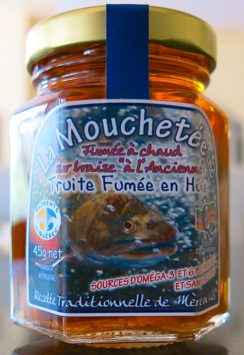 24a Terroirs Quebec Smoked Trout Mouchetee
