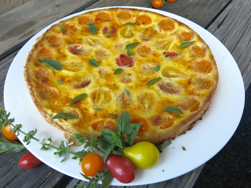 4 Tomato Tart or Quiche