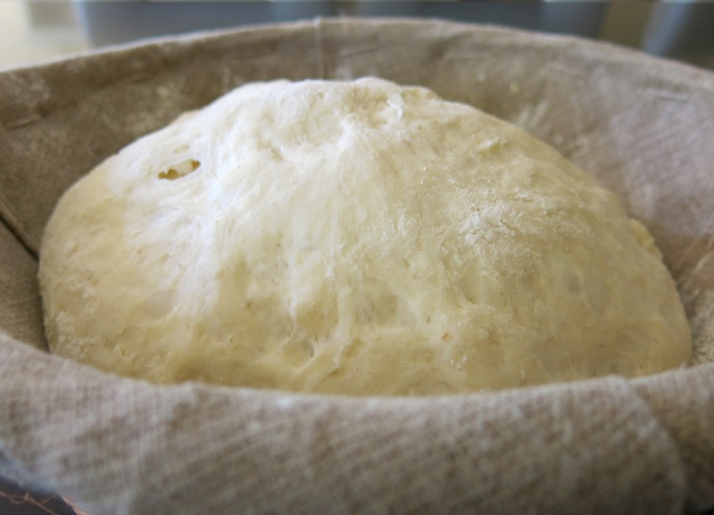 7 Baguette Dough After Proofing