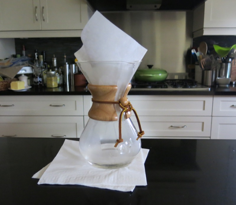 1 Chemex and Lavazza