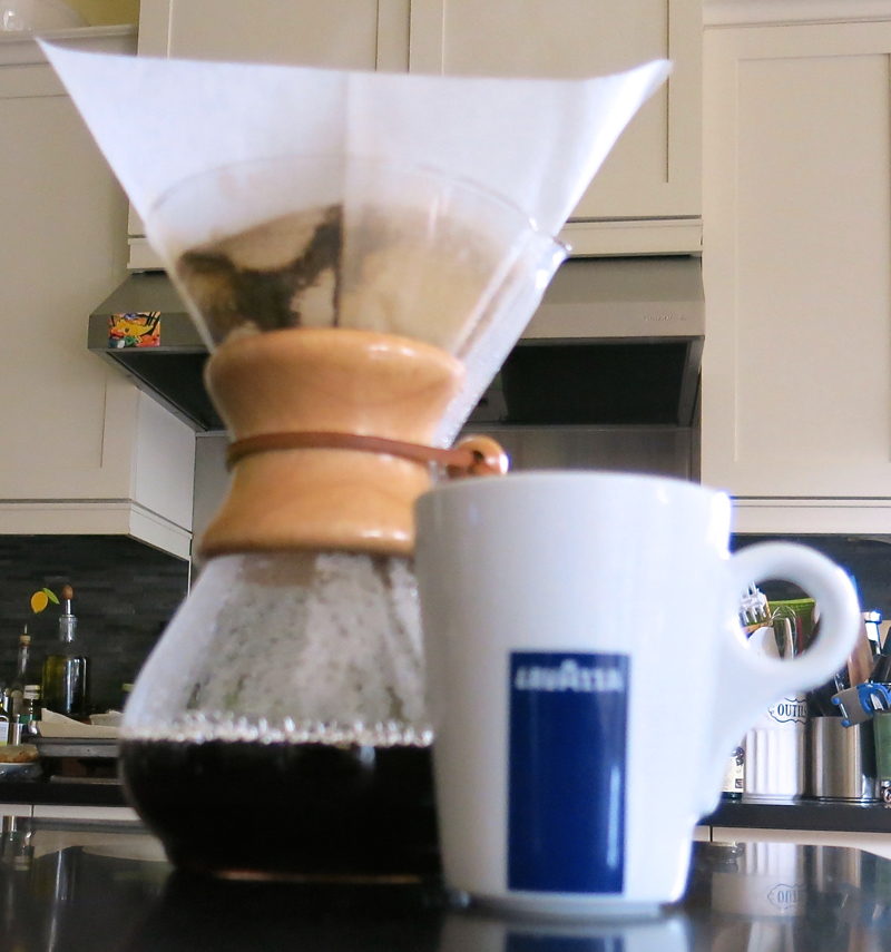 10 Chemex and Lavazza