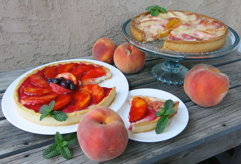 11b Summer Peach Tart Thermomix