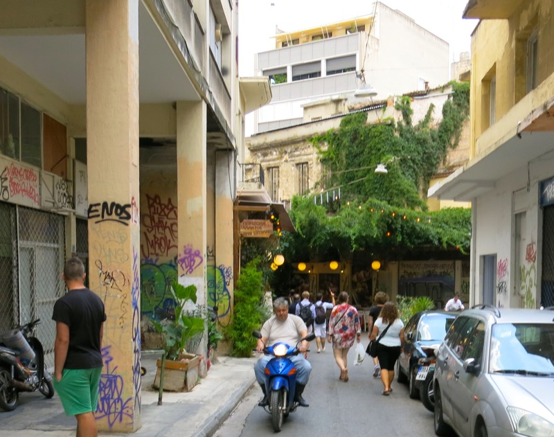 121 Athens Walking Tour