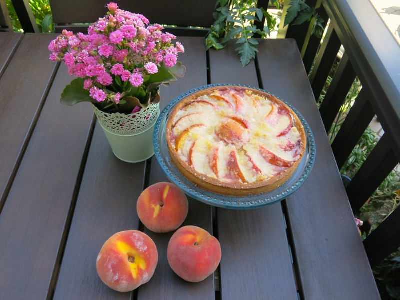 2 Simple Summer Peach Tart