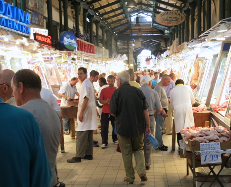 25 Athens Central Meat Market