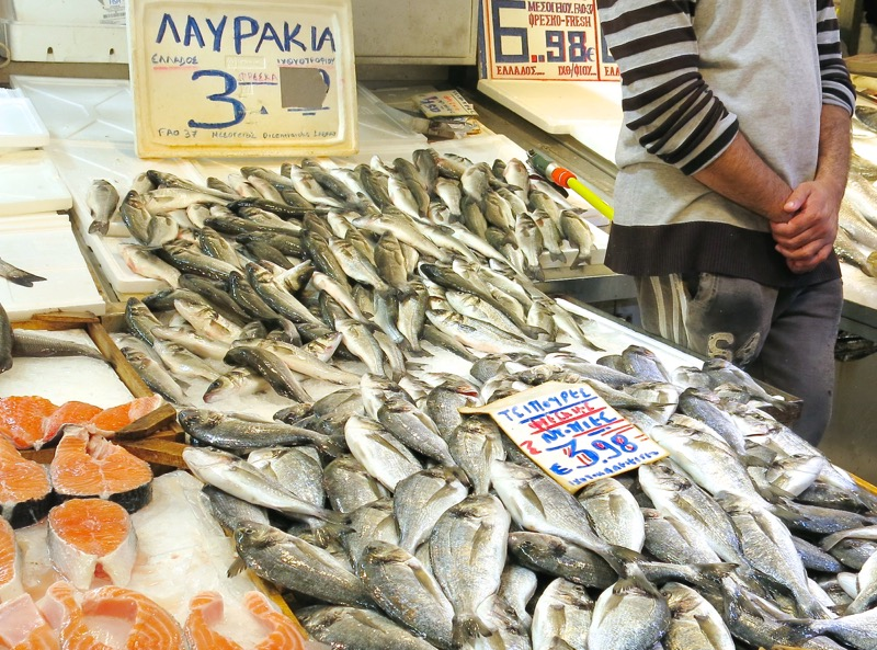 39 Athens Central Fish Market