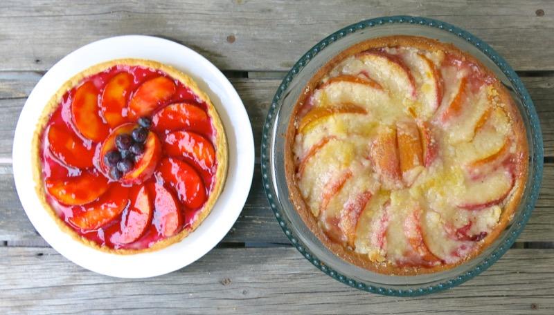 3a Fresh Peach Tart